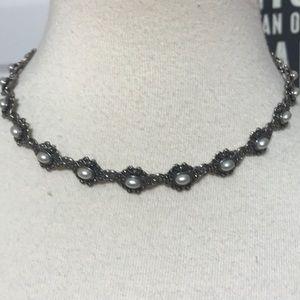 Neiman Marcus Flower Choker Necklace 🌸